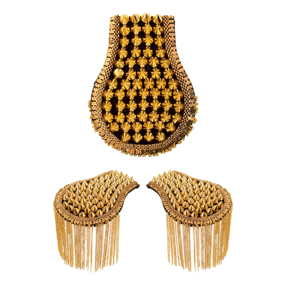 Epauletter Guld - One size