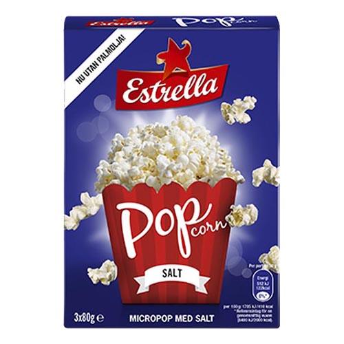 Estrella Micropopcorn Salt - 3-pack