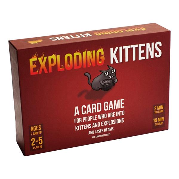 Exploding Kittens Kortspel - Original
