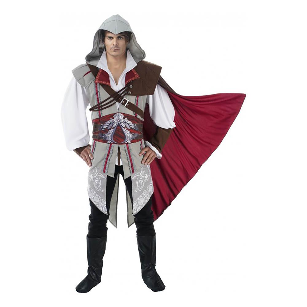 Ezio Deluxe Maskeraddräkt - Medium