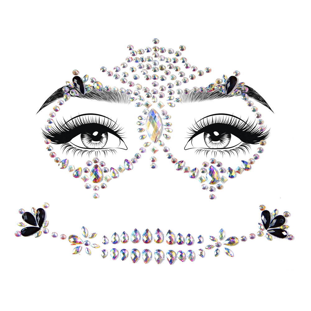 Face Jewels Calavera Deluxe