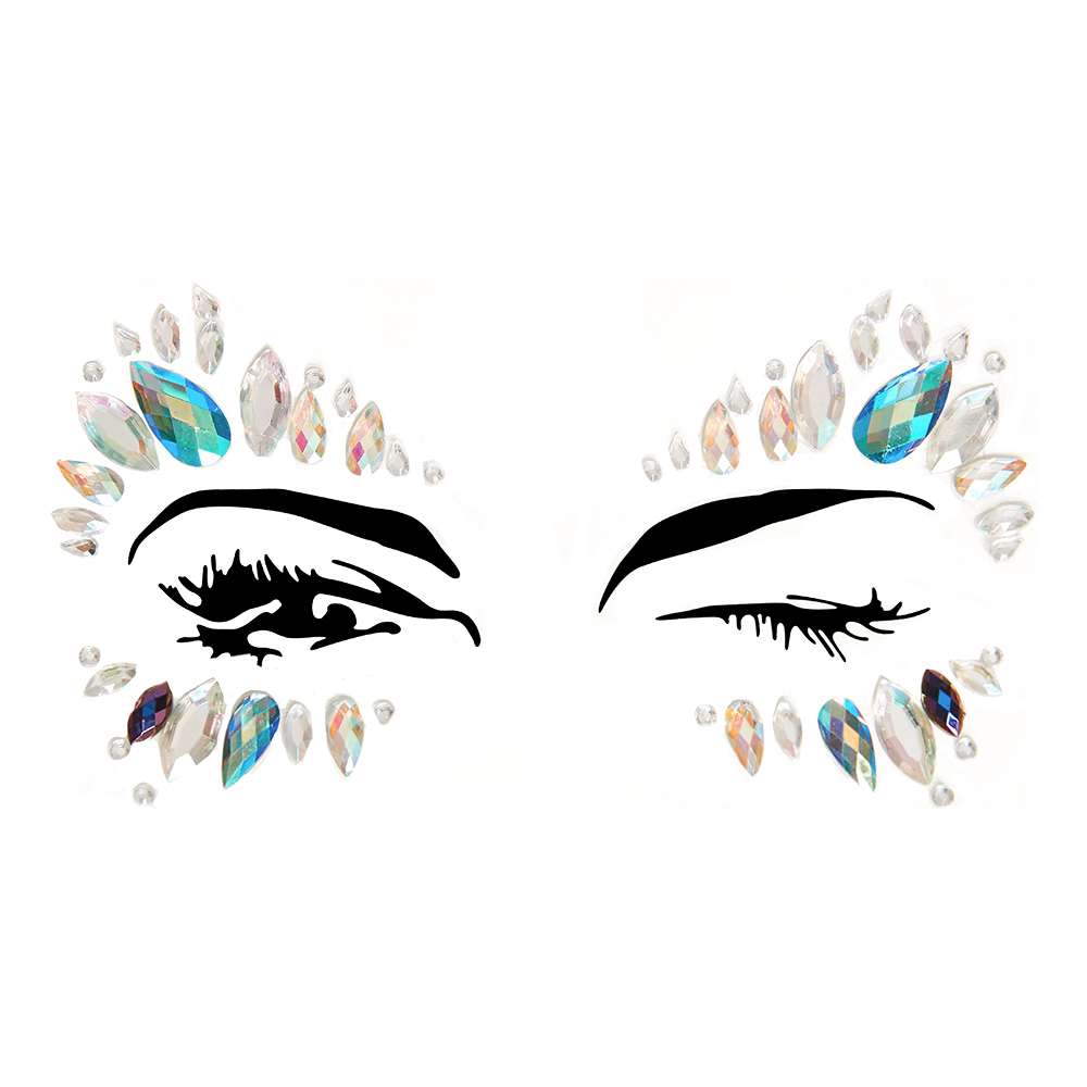 Face Jewels Calypso Deluxe