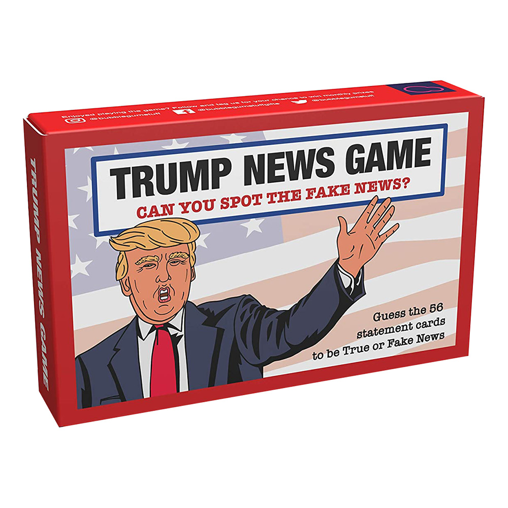 Fake News Game Trump Edition Spel