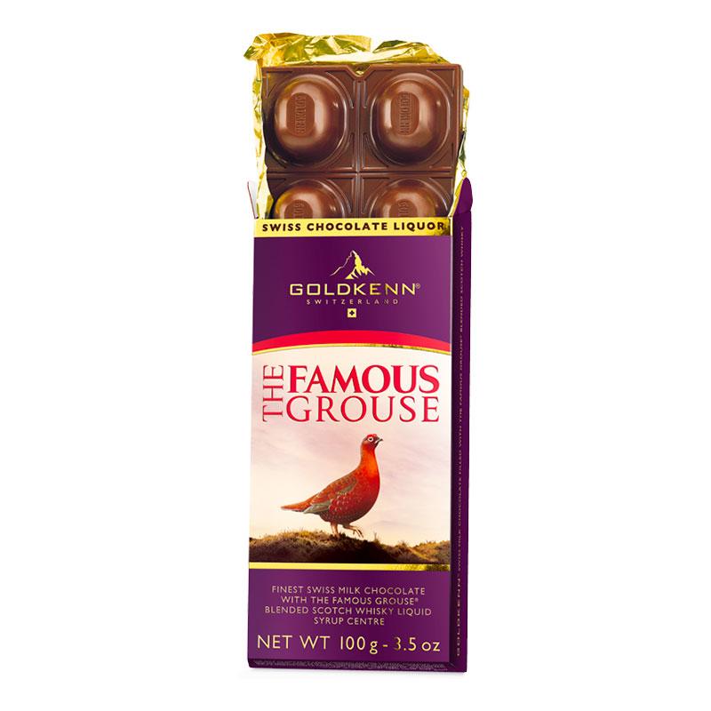 Famous Grouse Chokladkaka - 100 gram
