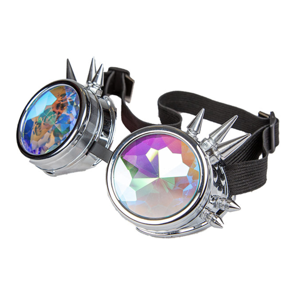 Festivalglasögon Holografisk - One size