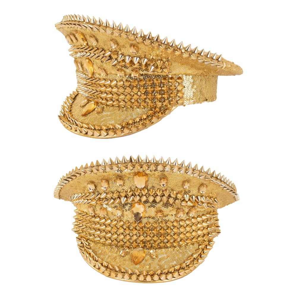 Festivalhatt Bling Guld - One size