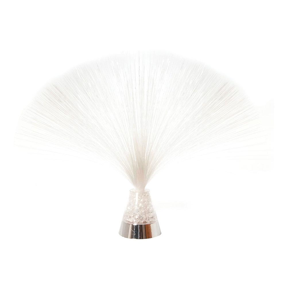 Fiberoptisk Iskristall Lampa Färgskiftande