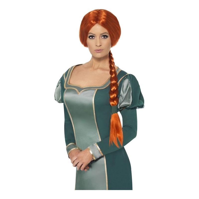 Prinsessan Fiona Peruk - One size