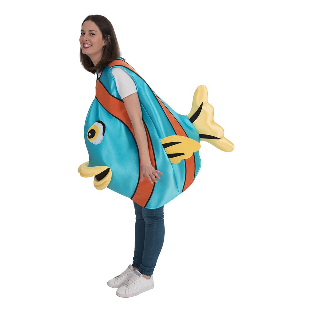 Fiskdräkter - Fisk Maskeraddräkt - One size