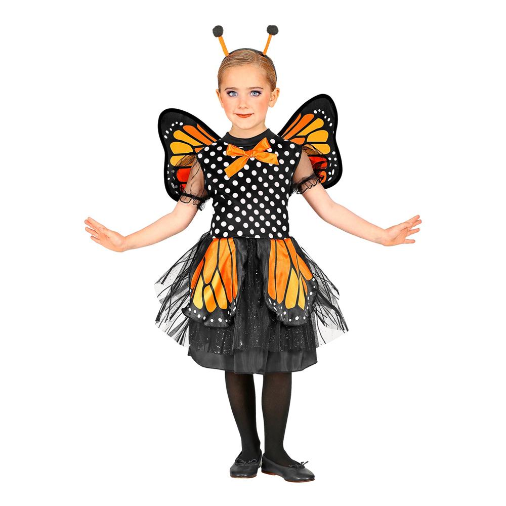 Fjäril Barn Maskeraddräkt - Small