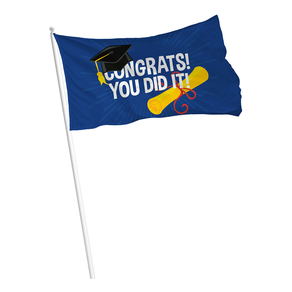 Flagga Congrats You Did It!