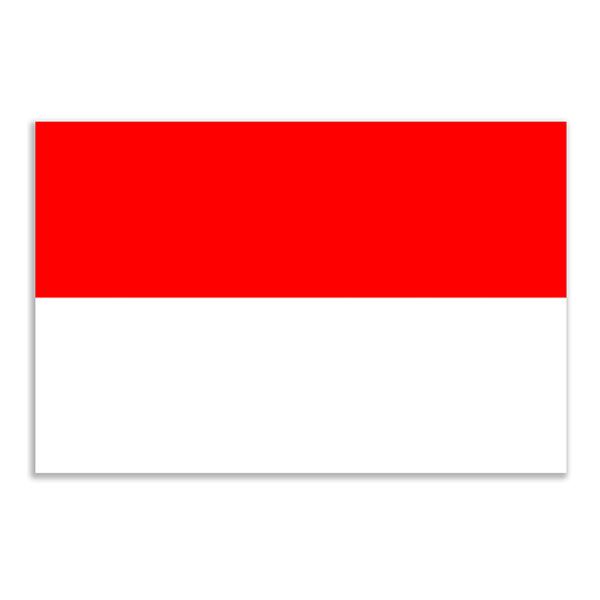 Flagga Indonesien