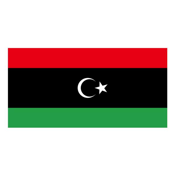 Flagga Libyen