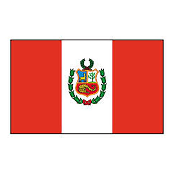 Flagga Peru