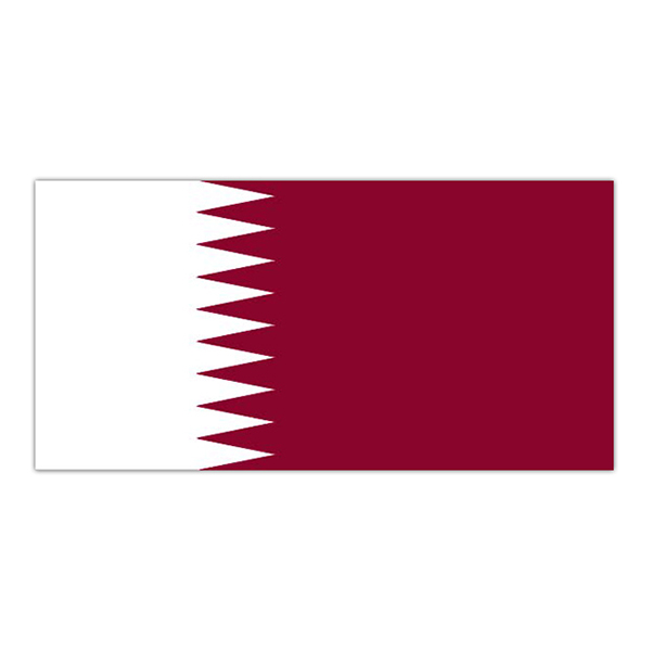 Flagga Quatar