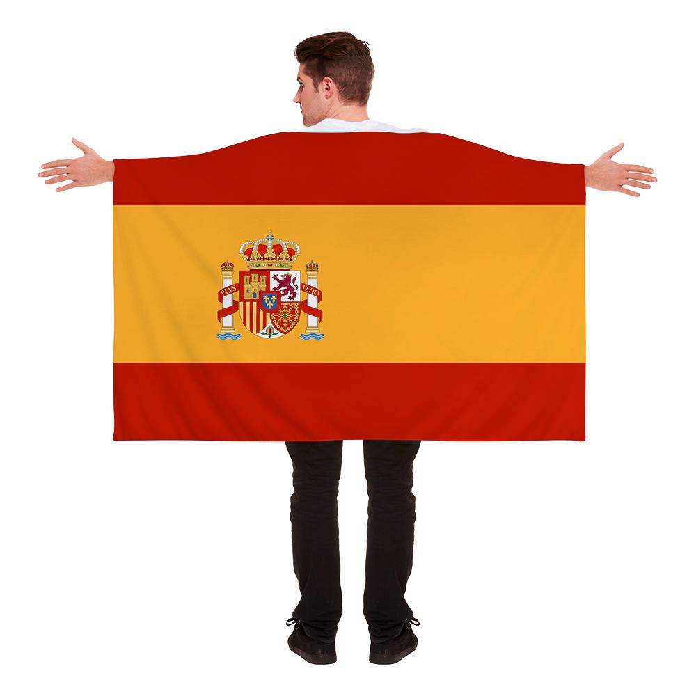 Flaggcape Spanien