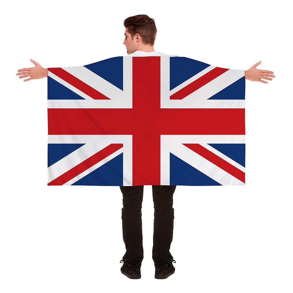 Flaggcape Storbritannien