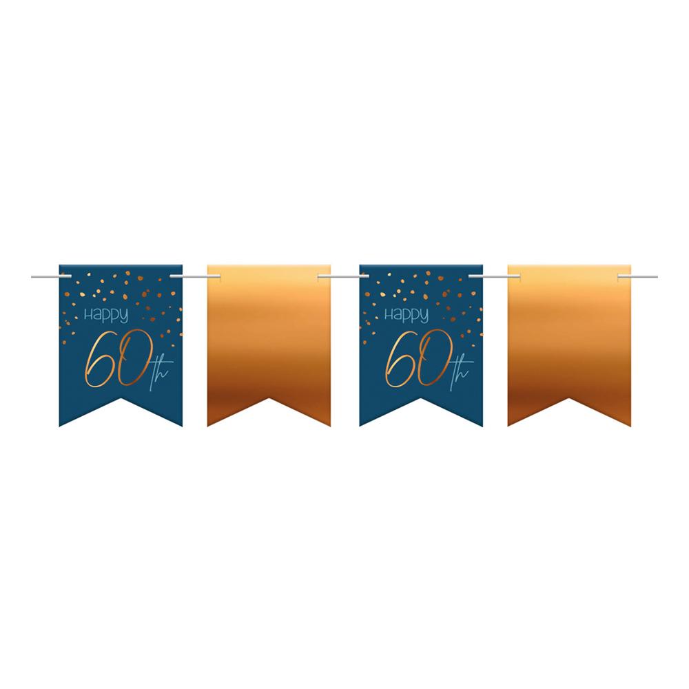 Flaggirlang Happy 60th True Blue