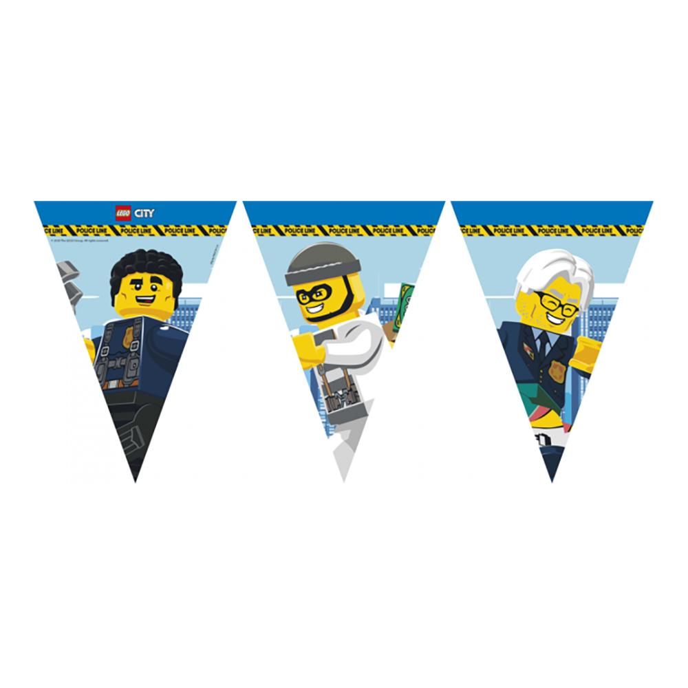 Flaggirlang Lego City