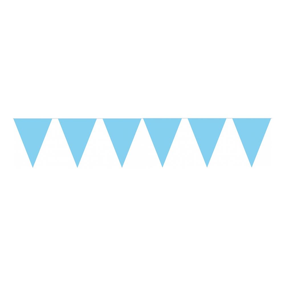 Flaggirlang Ljusblå