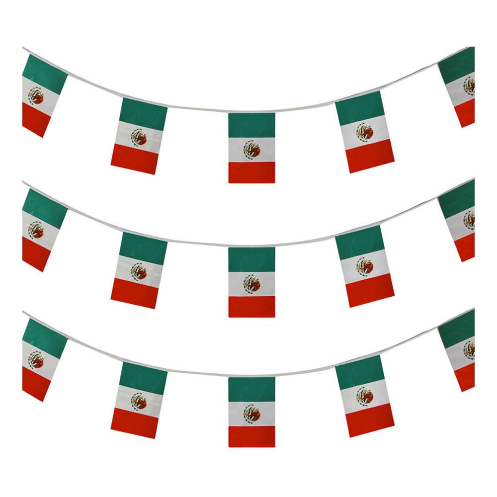 Flaggirlang Mexiko