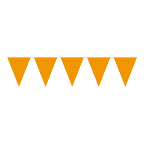 Flaggirlang Mini Orange