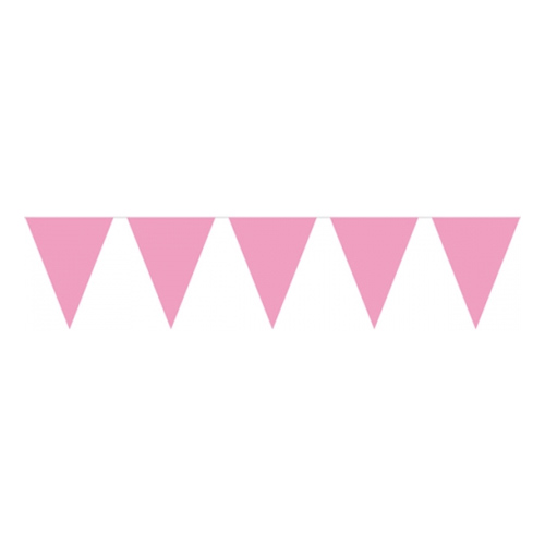 Flaggirlang Mini Rosa