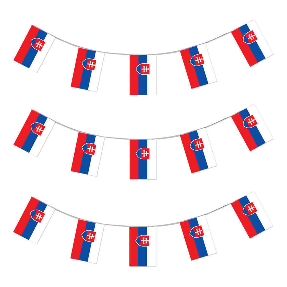 Flaggirlang Slovakien