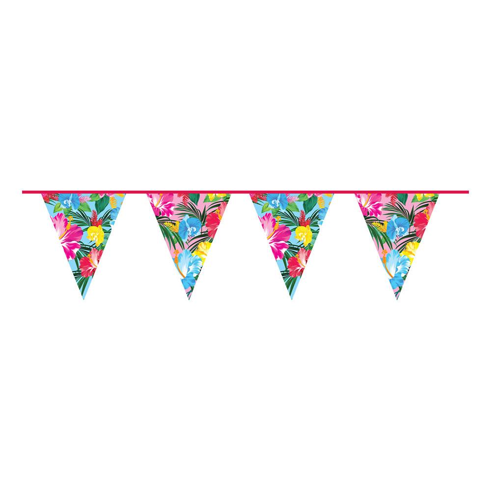 Flaggirlang Tropiska Blommor