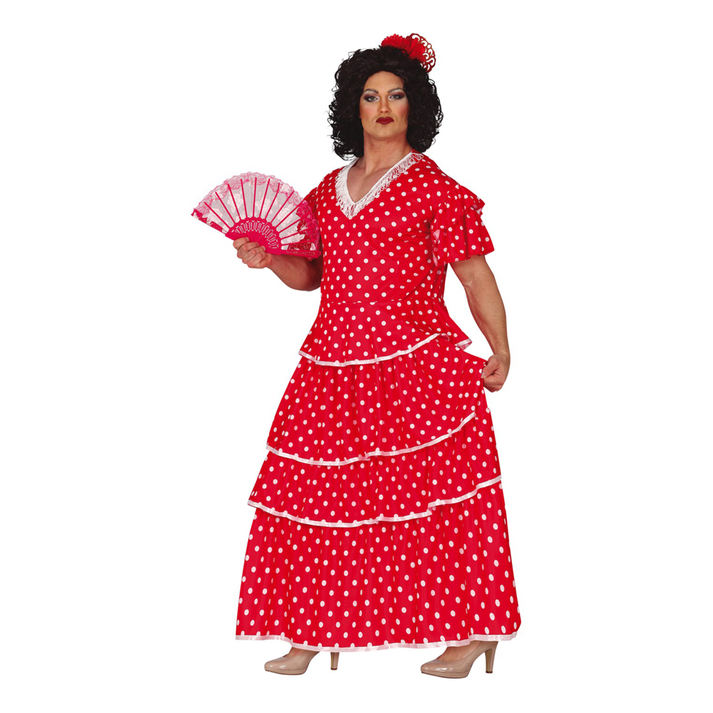 Flamenco Man Maskeraddräkt - Medium