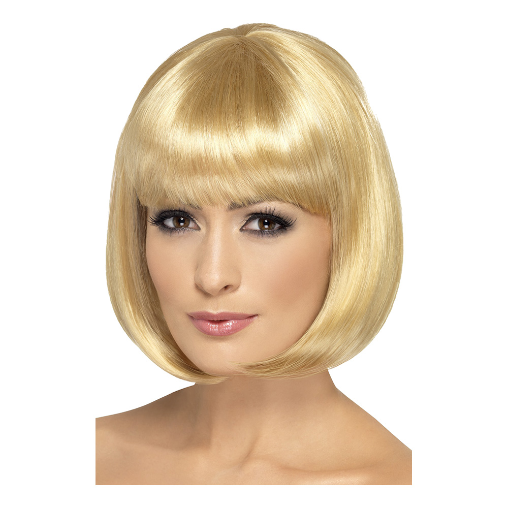 Flapper Blond Peruk - One size