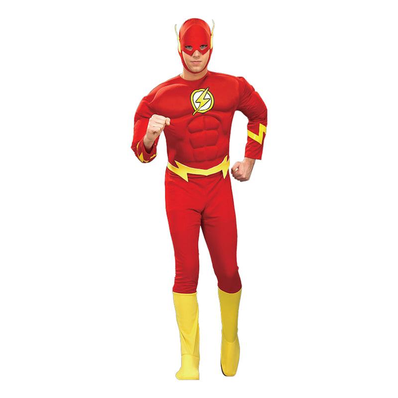 Flash med Muskler Maskeraddräkt - Medium