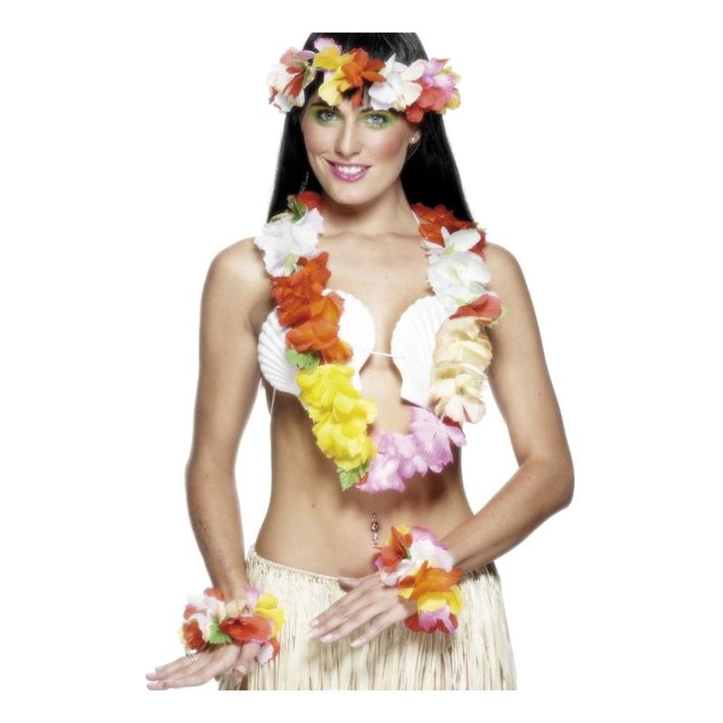 Flerfärgat Hawaiiset