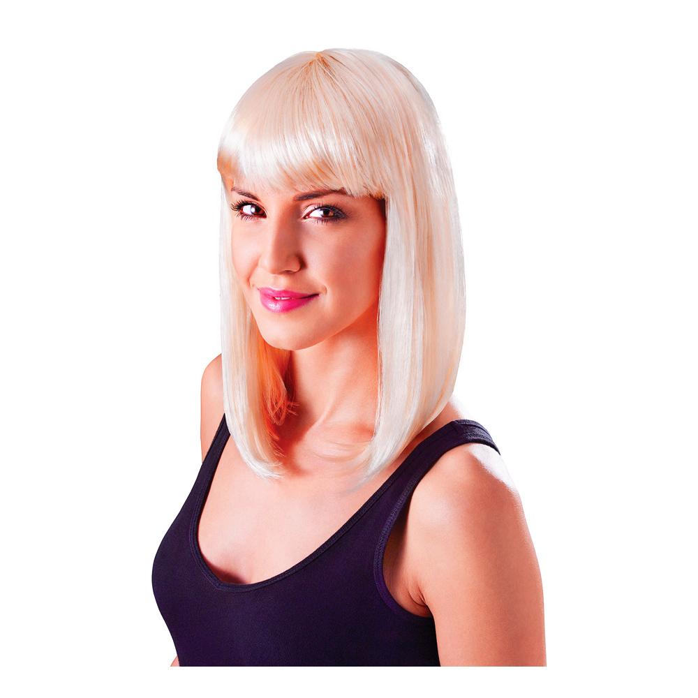 Flickperuk Blond - One size