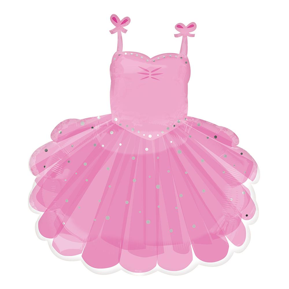 Folieballong Ballerinaklänning