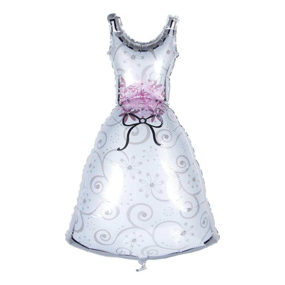 Folieballong Bröllopsklänning