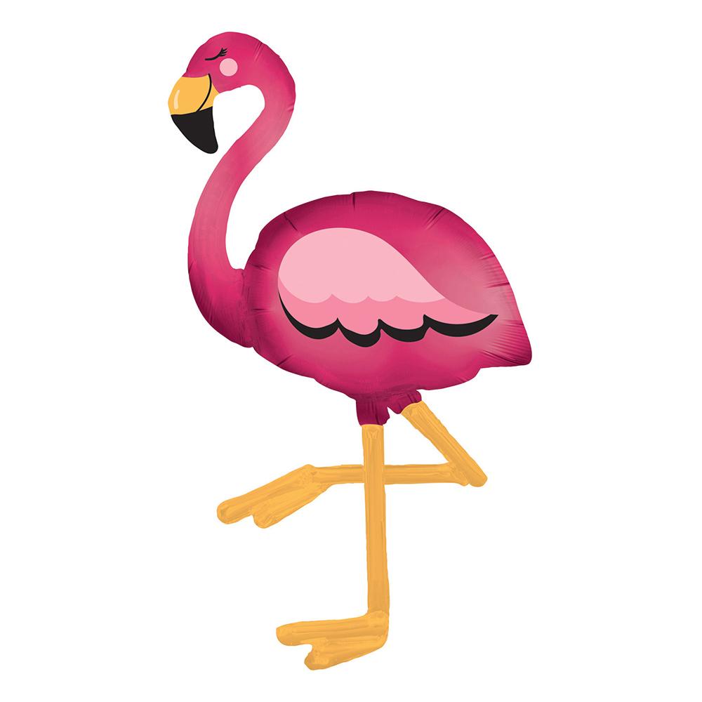 Folieballong Flamingo Airwalker