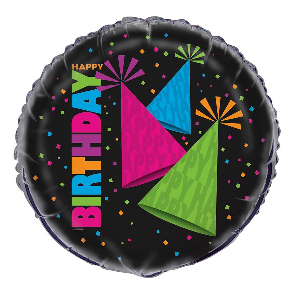 Folieballong Födelsedag Neon