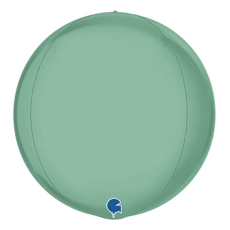 Folieballong Globe Stor Grön