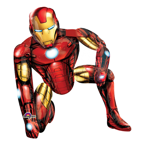 Folieballong Iron Man Airwalker - 1-pack