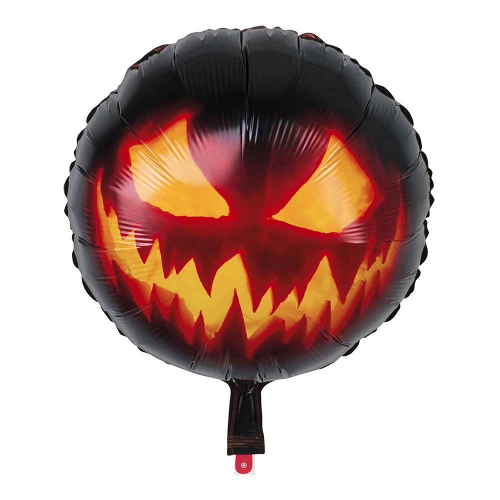 Folieballong Läskig Pumpa