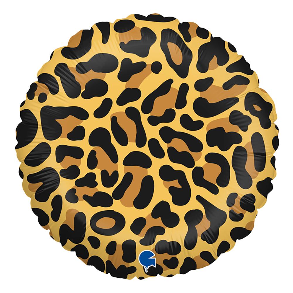 Folieballong Leopard - 1-pack