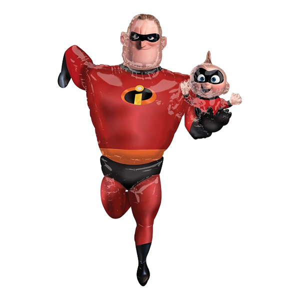 Folieballong Mr Incredible Airwalker - 1-pack