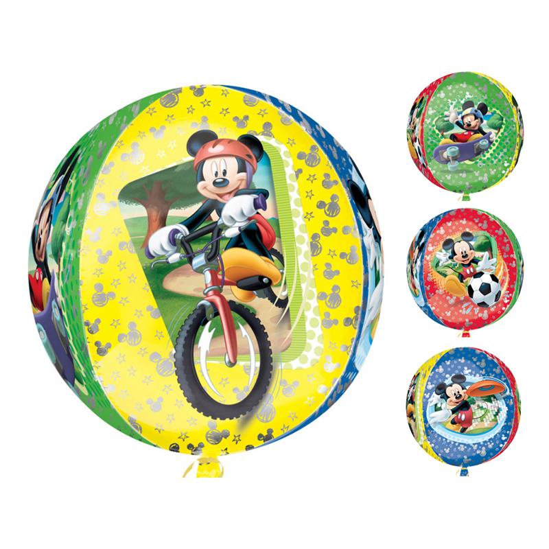 Folieballong Musse Pigg Orbz