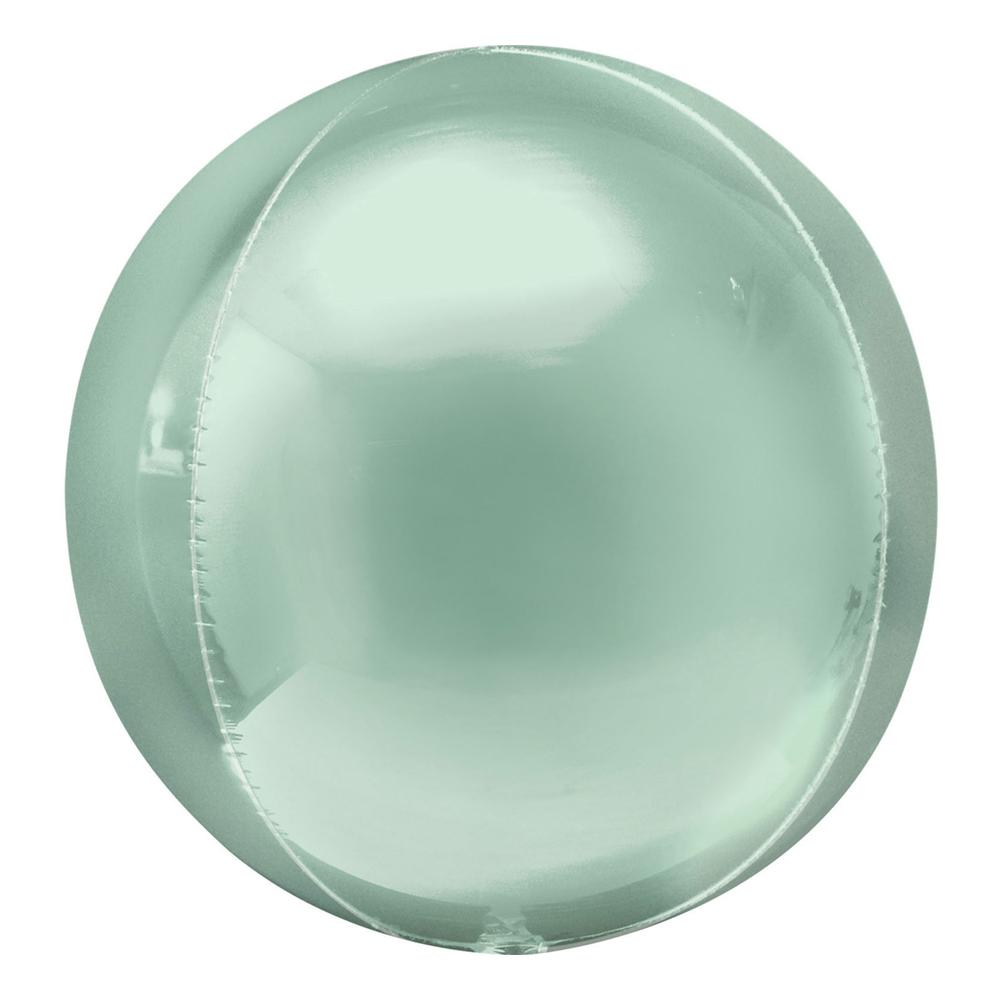 Folieballong Orbz Mintgrön - 1-pack