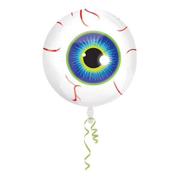 Folieballong Orbz Ögonglob