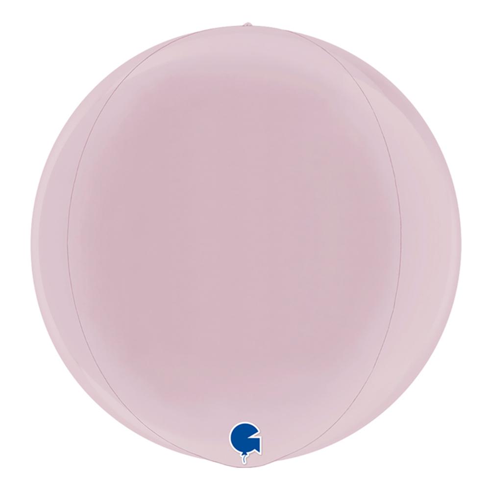 Folieballong Orbz Pastellrosa - 38 cm