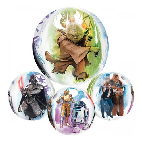Folieballong Orbz Star Wars