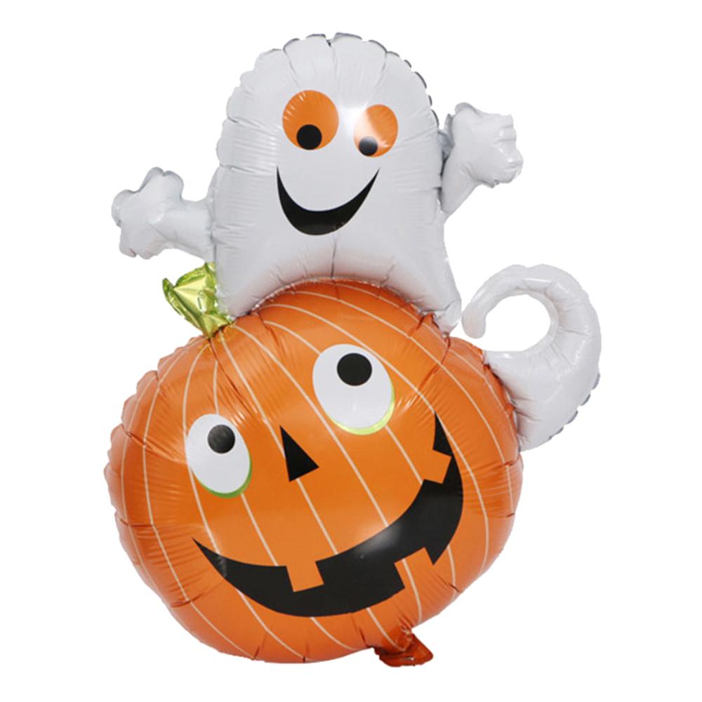 Folieballong Pumpa & Spöke