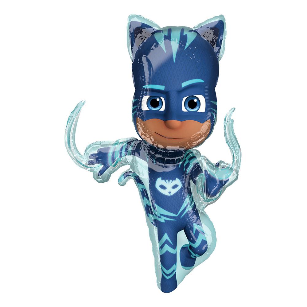 Folieballong Pyjamashjältarna Kattpojken